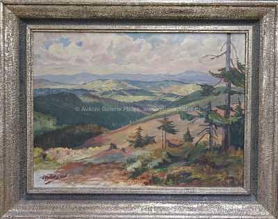 František Bílek - Pohled do krajiny