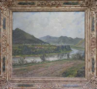 Karl Podlipny - U řeky