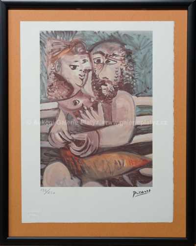 Pablo Picasso - Milenci