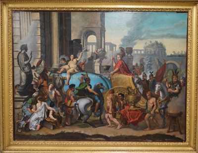Nesignováno - Vítězný pochod Římanů