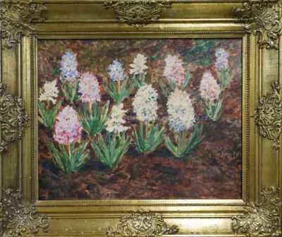 František Kaván - Rozkvetlé hyacinty