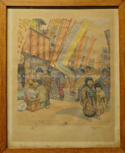 František Tavík Šimon - Z japonského tržiště