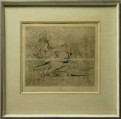 František  Tichý - Leda s labutí