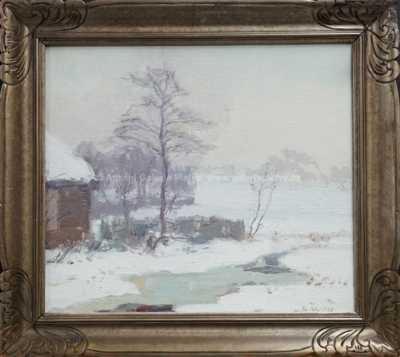 Alois Kalvoda - Zimní ráno