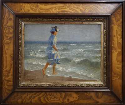Adolf Wiesner - Na pláži