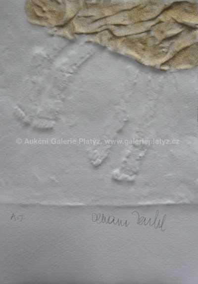 Olbram Zoubek - Nohy s draperií