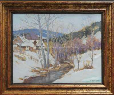 Karel Schadt - Zimní nálada