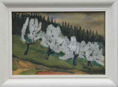 Lev Šimák - Rozkvetlé stromy