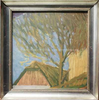 Karel Boháček - Strom u chalupy