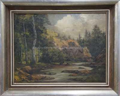 Jan Trampota - Řeka pod skalou