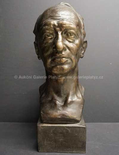 Ladislav Šaloun - Hlava muže