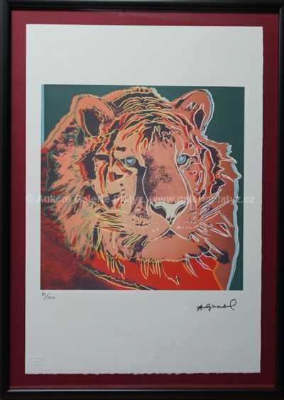 Andy Warhol - Tygr