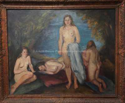 Bedřich Horálek - Dívky u vody