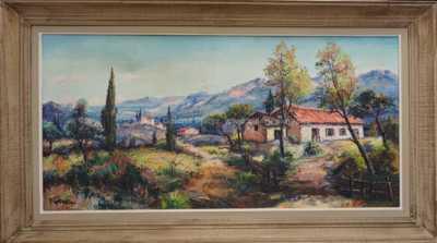 Autor neurčen - Domky pod horami