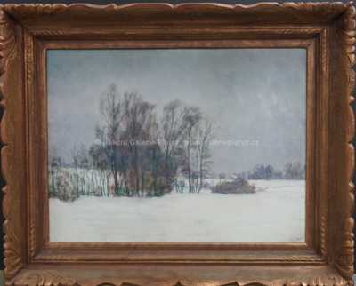 František Kaván - Zimní nálada