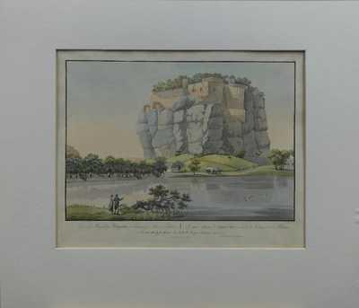 Karel Postl - Skalní hrad Sloup