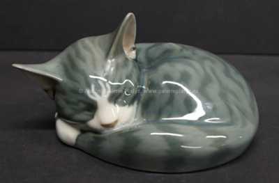 Porcelán - Kočka