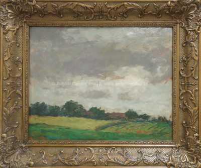 Gustav Macoun - Pohled na vesnici