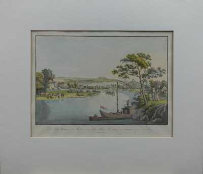 Karel Postl - Pohled na Libeň