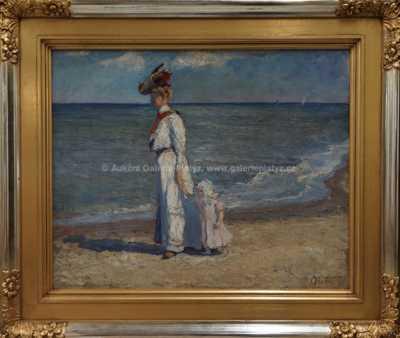 Carl Hessmert - Procházka po pobřeží