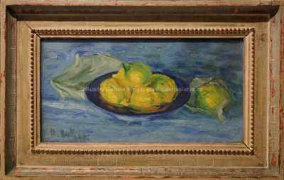 Miloslav  Holý - Zátiší s citrony
