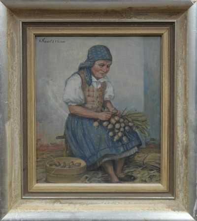 Josef (Joža) Koudelka - Babka s makovicemi