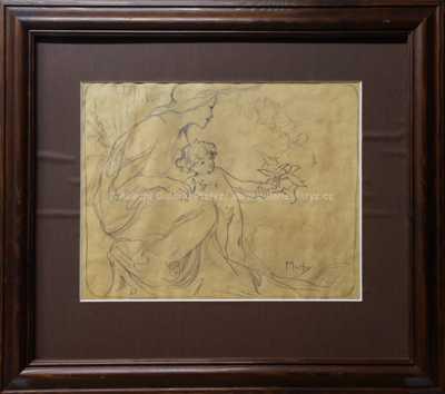 Alfons Mucha - Návrh plakátu