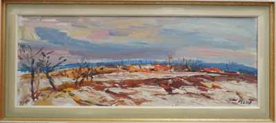 Leopold Musil - Zimní krajina