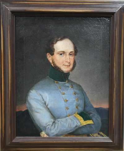 Nesignováno - Portrét muže v uniformě