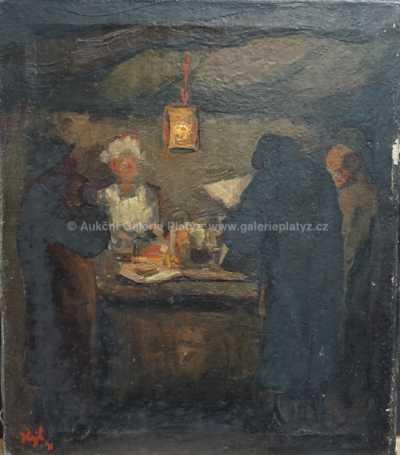Alois Hejl - U stolu