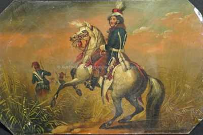 Nesignováno - Voják na koni
