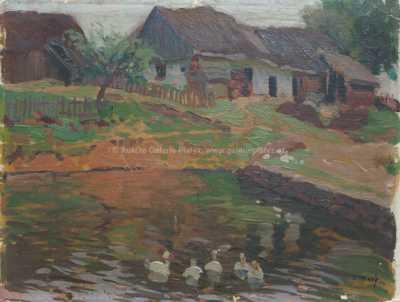 Václav Malý - Rybníček na návsi