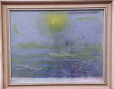 Rudolf Němec - Loďky na moři