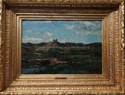 Leonce Chabry - Pohled na hrad