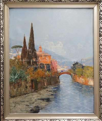 Hans Johann Wagner - Z italského pobřeží