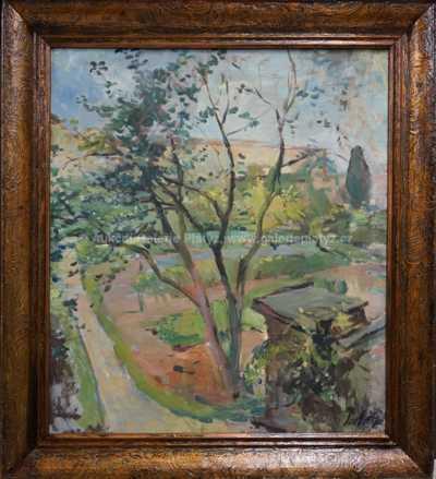 Jan Trefný - Zahradní motiv