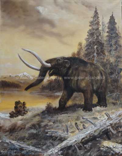 Petr Modlitba - Mastodon americanus