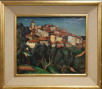 Edmond Ceria - Vesnička v Provence