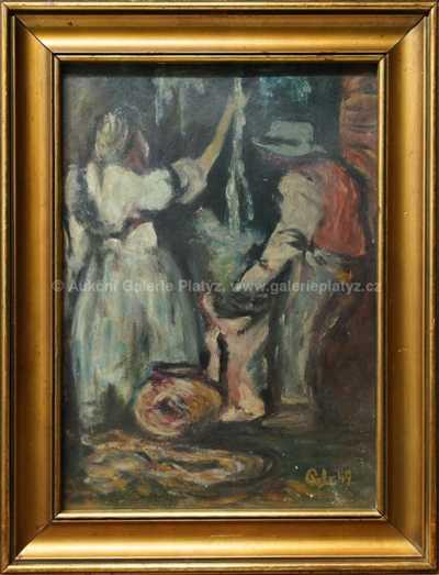 Antonín Pelc - Práce s bavlnou