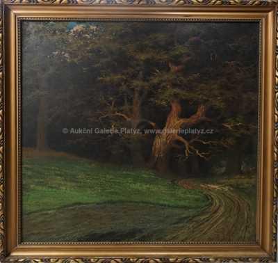 Ferdinand Adámek - Na okraji starého lesa