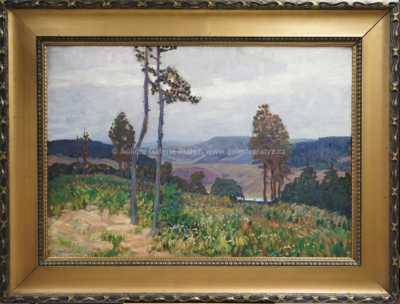 Ota Bubeníček - Krajina u Mladé Vožice