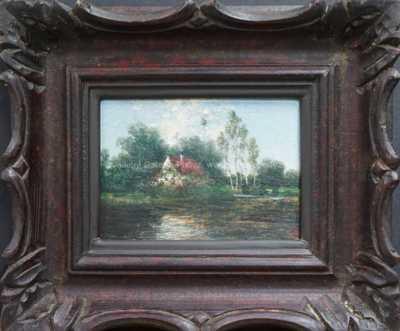 Antonín Waldhauser  - Domek u rybníka