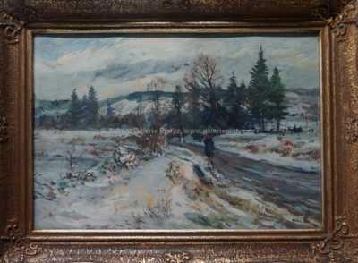 František Háša - Zimní cesta
