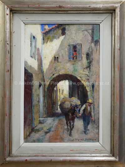 Jacques Madyol - V uličce