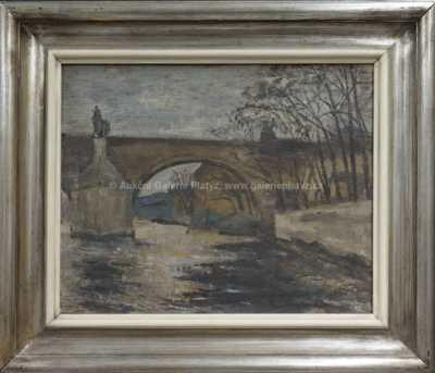 Karel Holan - Pod Karlovým mostem