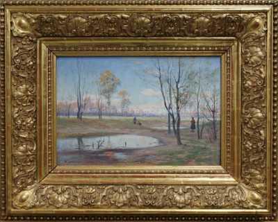 Karel Liebscher - Na jaře