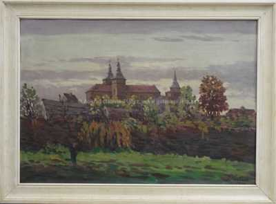 Jaroslav Šimůnek - Pohled na klášter