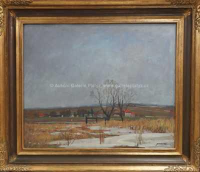Jaromír Kunc - Na břehu rybníka