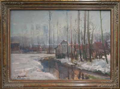 Jaromír Kunc - Zimní potok