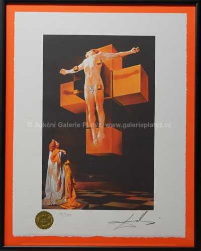 Salvador Dalí - Na kříži